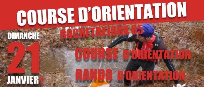 Slide course d'orientation dimanche 21 janvier 2018 Rochetrejoux vendée 85 - Chantonnay raid