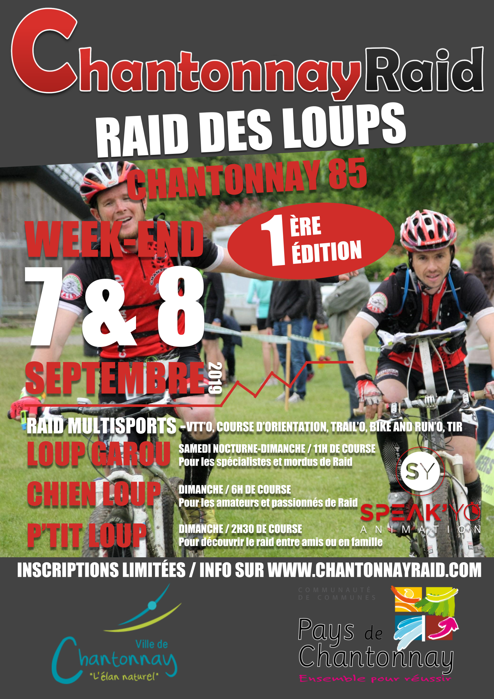 Calendrier Raid Multisport 2019.Raid Des Loups 7 Et 8 Septembre 2019 Raid Multisports