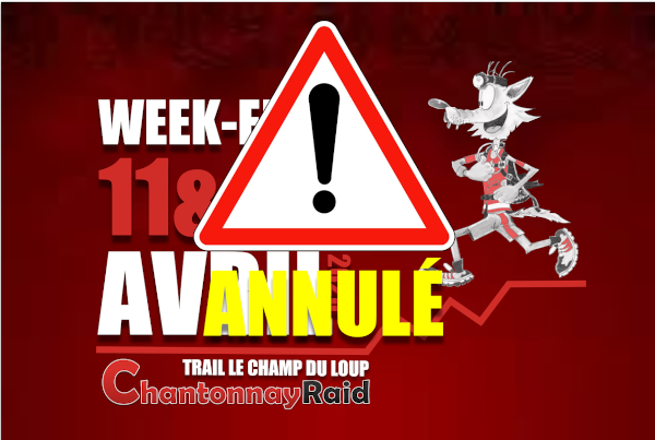 TRAIL LE CHAMP DU LOUP 2020 ANNULE ARTICLE